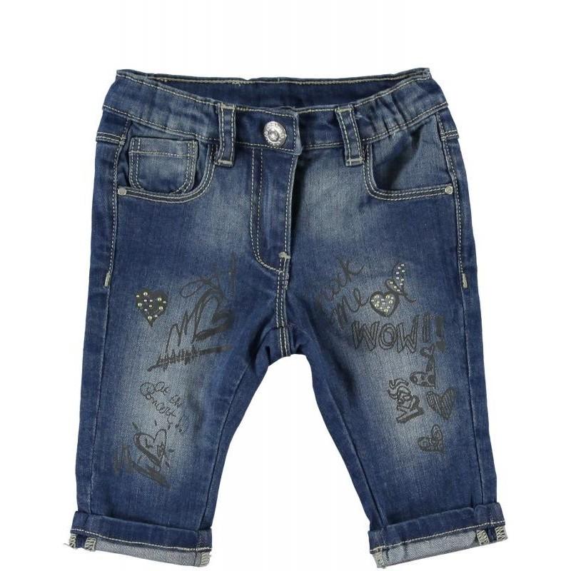 Sarabanda 0M241 Pinocchietto jeans girl