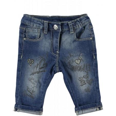 Sarabanda 0M241 Pinocchietto jeans bambina