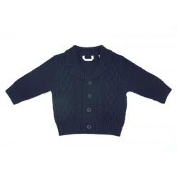 Minibanda 3L605 Baby Blue Cardigan
