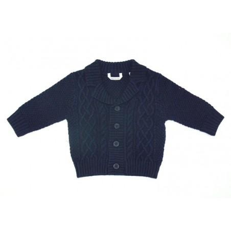 Minibanda 3L605 Cardigan blu neonato