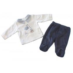 Minibanda 3L602 Tutina spezzata neonato