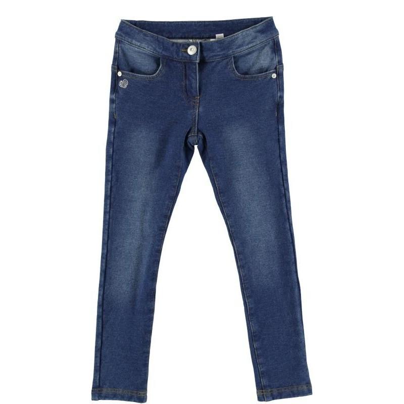 Sarabanda 0N452 Jeans felpato ragazza