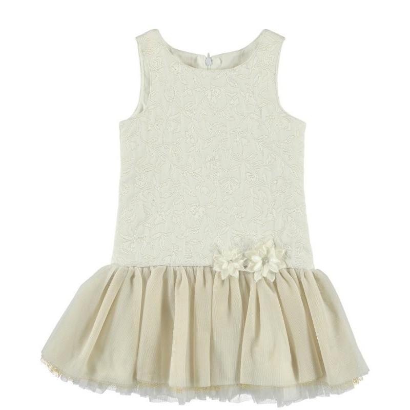 Sarabanda 0N421 Sleeveless Girl Dress