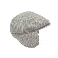 Minibanda 3L908 Cappello tortora neonato