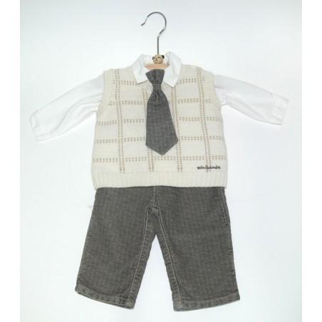 Complete baptism newborn vest tg. 3 Months