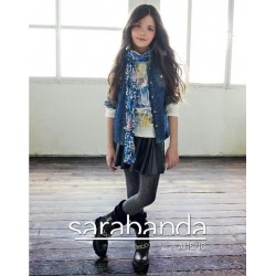 Sarabanda 0N057 Pashmina ragazza