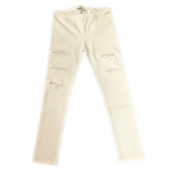 Sarabanda 0S411 Girl Cream Leggings
