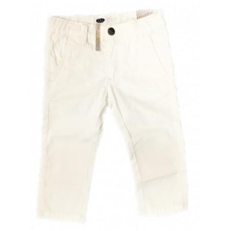 Sarabanda 0S150 Pantalone bianco bambino