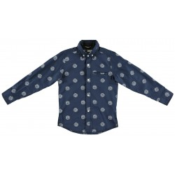 Sarabanda 0S315 Boy Blue Shirt