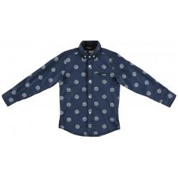 Sarabanda 0S315 Camicia blu ragazzo