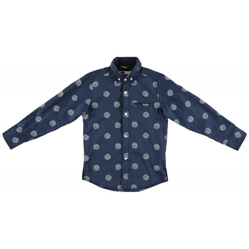 Sarabanda 0S315 Boy Blue Shirt