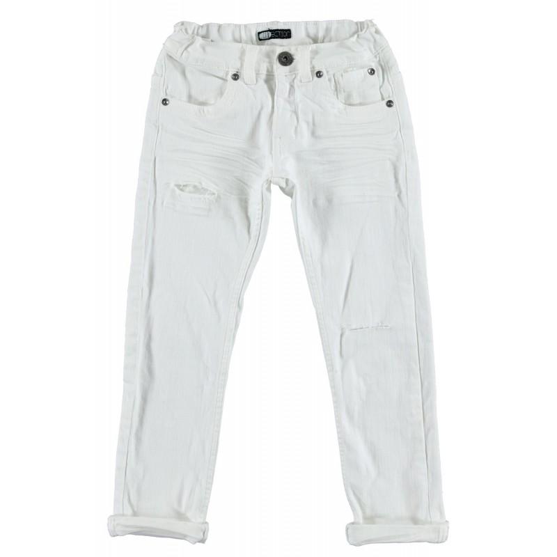 Sarabanda 0S347 White jeans boy