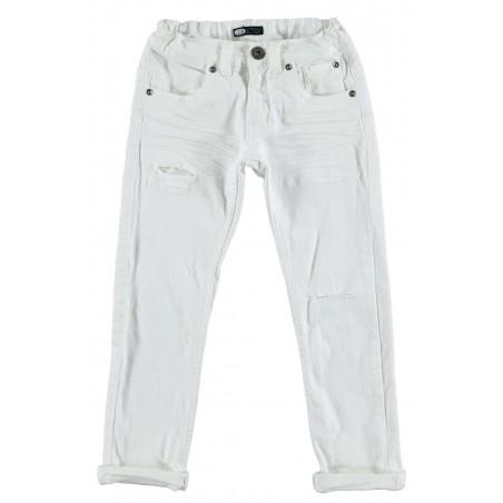 Sarabanda 0S347 Jeans bianco ragazzo