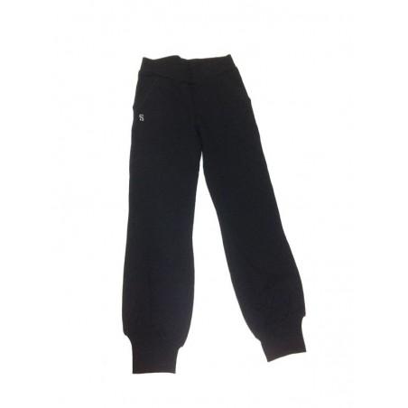 0D828 Pantalone tuta felpato