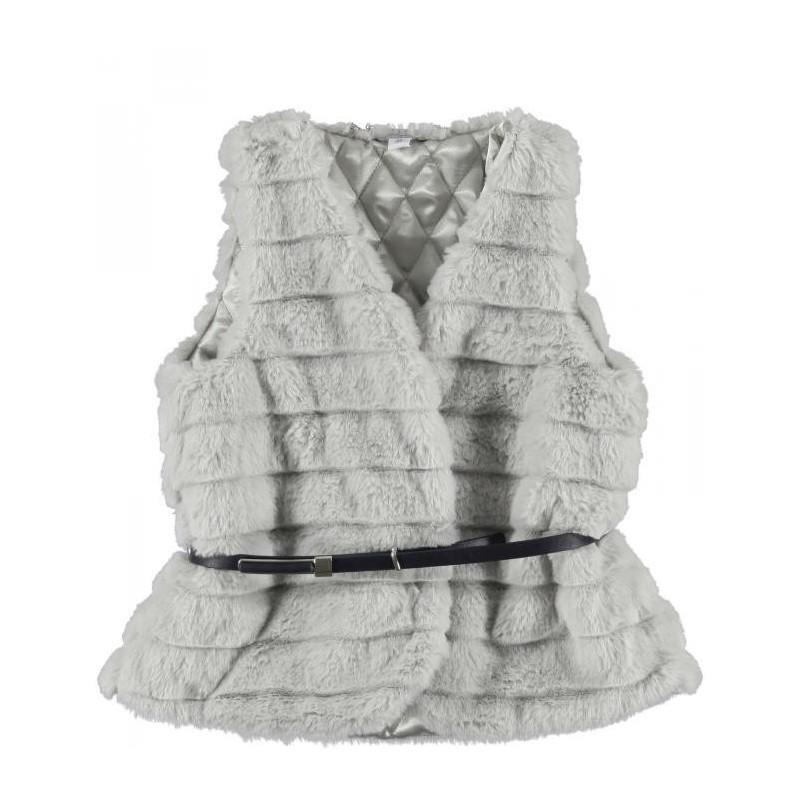 0L420 Fur vest