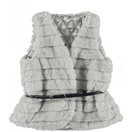 Sarabanda 0L420 Gilet in pelliccia ragazza