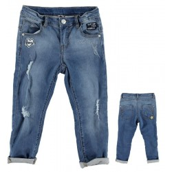 Sarabanda DT170 Jeans baggy ragazza