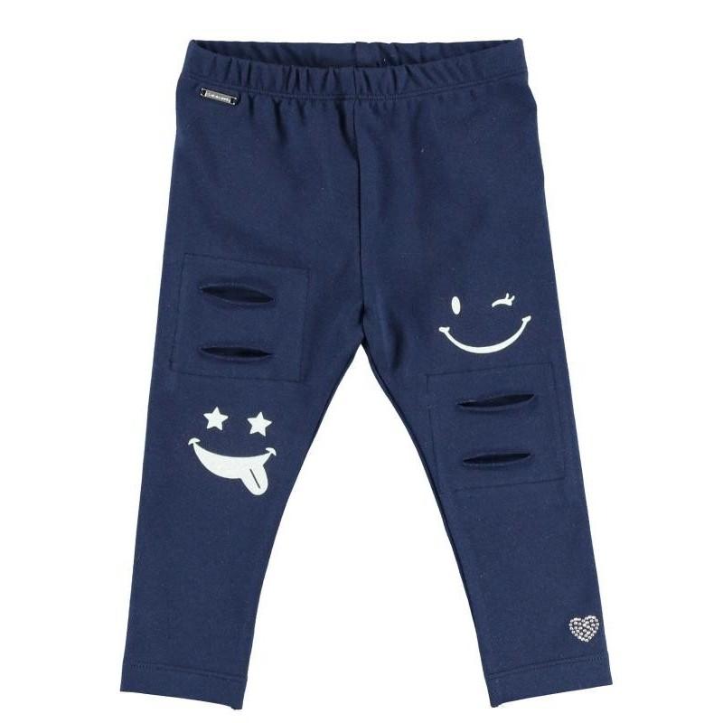 Sarabanda DT145 Girl Blue Leggings