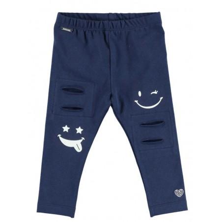 Sarabanda DT145 Leggings blu bambina