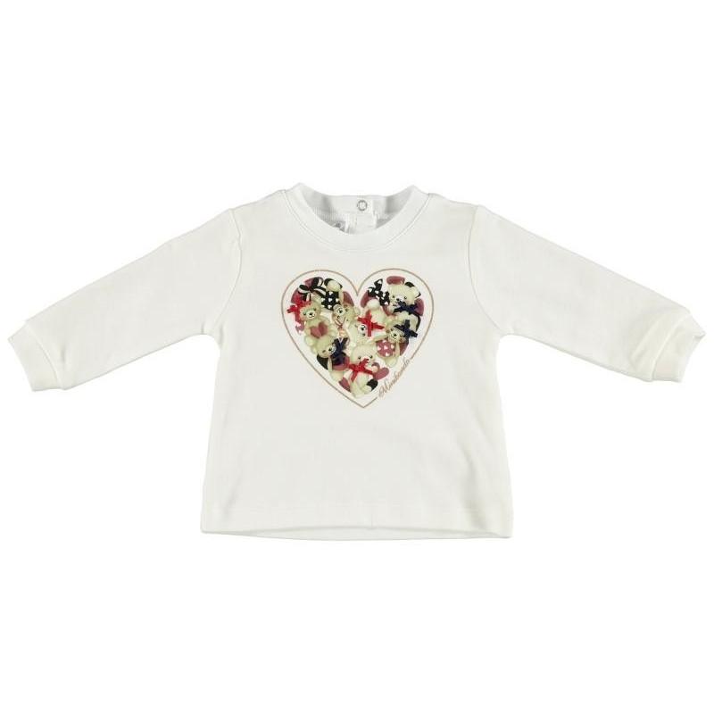 Minibanda 3T735 T-shirt neonata