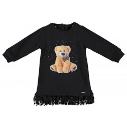 Sarabanda 0T241 Black Girl Dress