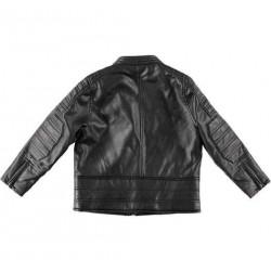 Sarabanda 0T384 Boy Faux Leather Jacket