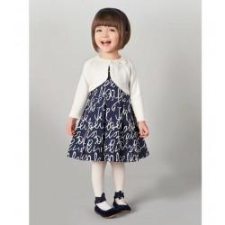 Sarabanda 0T254 Cardigan panna bambina