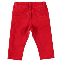 Sarabanda 0T149 Baby Red Pants