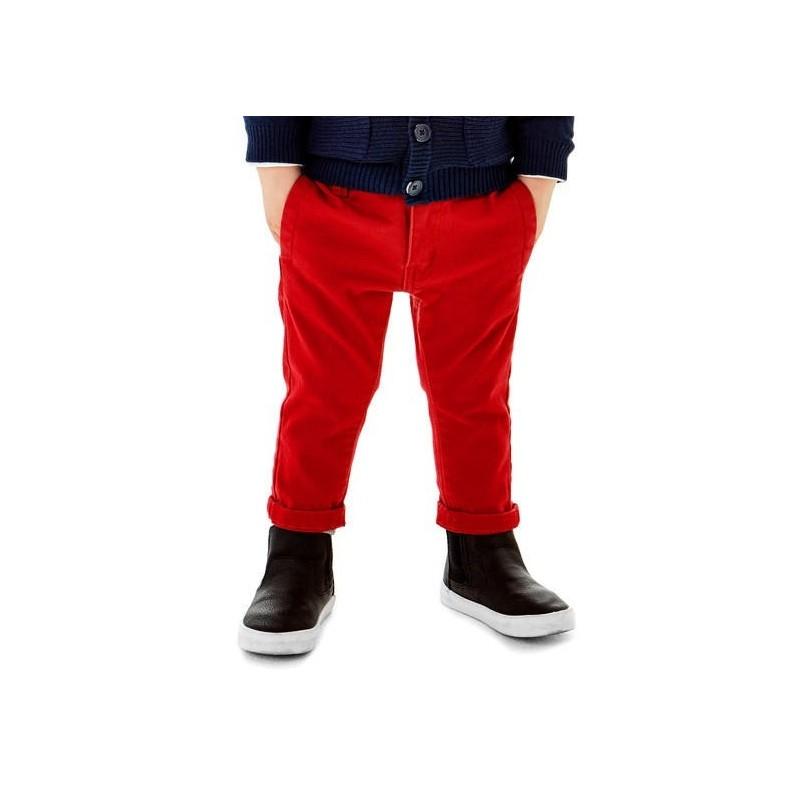 Sarabanda 0T149 Pantalone rosso bambino
