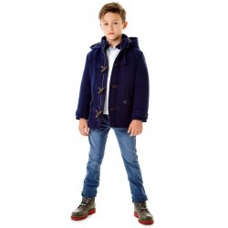 Sarabanda 0T382 Cappotto montgomery ragazzo