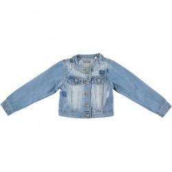 Sarabanda 0U464 Giubbetto jeans chiaro ragazza