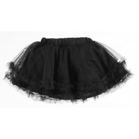 Sarabanda 0U233 Black girl skirt