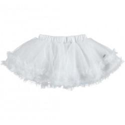Sarabanda 0U233 White girl skirt
