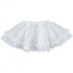 Sarabanda 0U233 Gonna bianca bambina