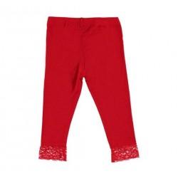 Sarabanda 0U213 Leggings rosso bambina