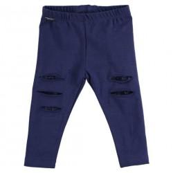 Sarabanda 0U215 Leggings blu bambina