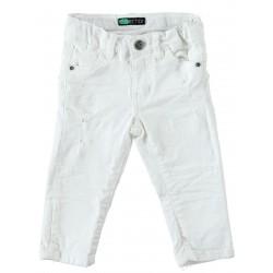 Sarabanda 0U156 White jeans for children