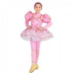 1608 Costume Ballerina rosa