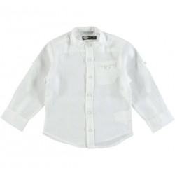Sarabanda 0U103 Camicia bianca bambino