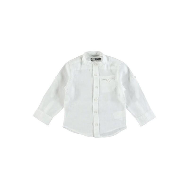 size 40 e1f72 1e0b0 Sarabanda 0U103 Camicia bianca bambino