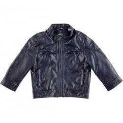Sarabanda 0U163 Baby Faux Leather Jacket