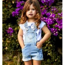 Sarabanda DU082 Baby Short Salopette