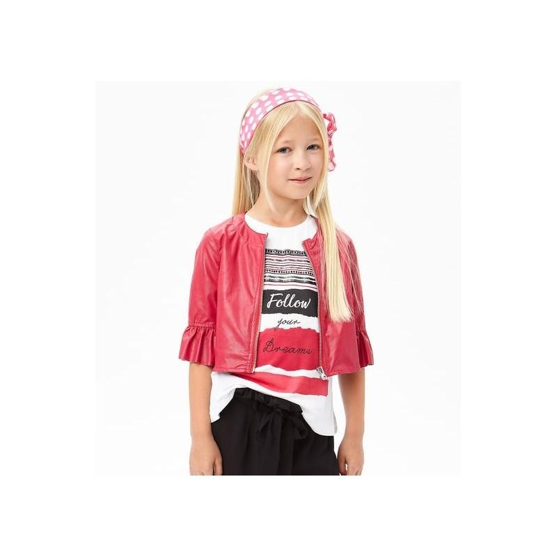 Sarabanda 0U693 Coat ecolead girl