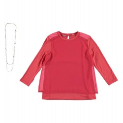 Sarabanda 0S450 Girl Coral Blouse