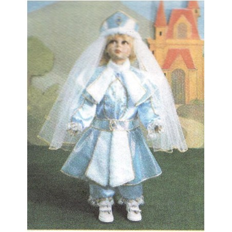 0144 Costume Dolce principessa