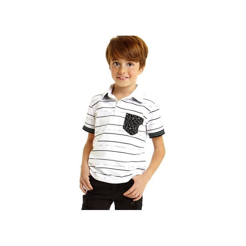Sarabanda 0U626 Polo ragazzo