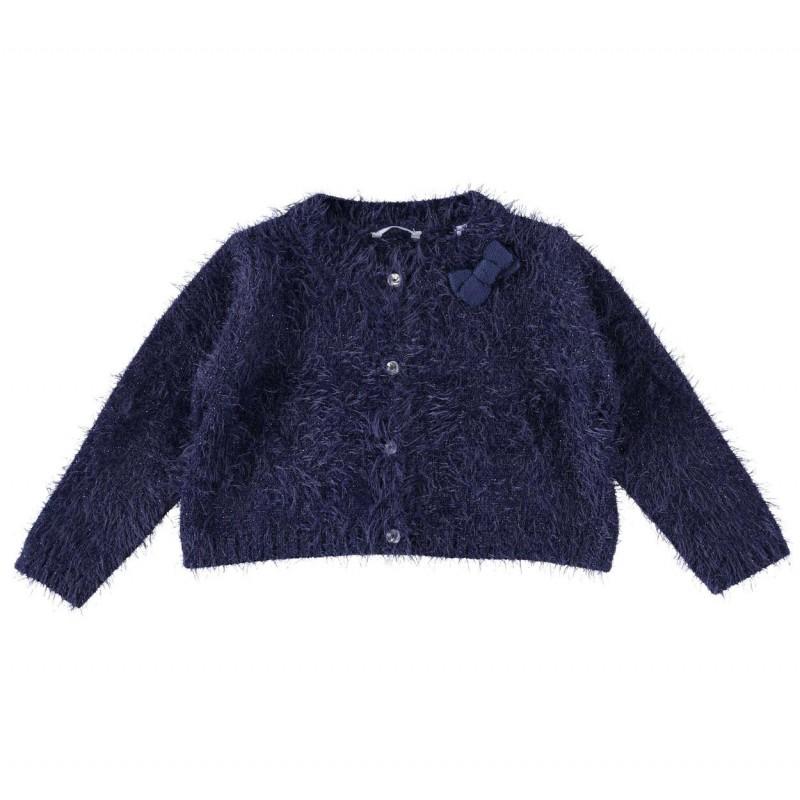 Sarabanda 0T252 Cardigan blu bambina