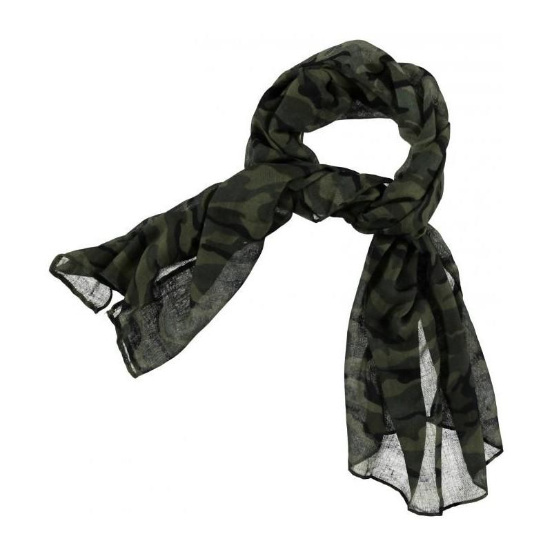 0L088 Camouflage Pashmina