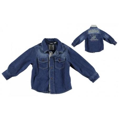 Sarabanda 0L113 Camicia jeans bambino