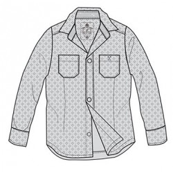 0L112 Patterned shirt